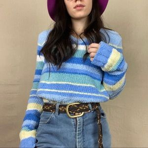Super soft striped sweater